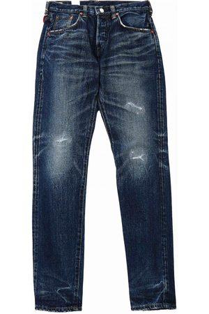 Edwin Jeans Regular Tapered RedxWhite Selvedge Denim - Dark Used, Rema