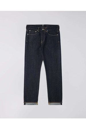 Edwin ED-80 Jeans - Red Listed Selvage Denim Rinsed