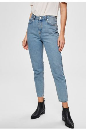 Selected Frida mw mom jeans aruba jeans