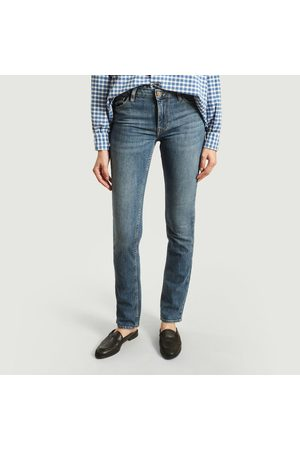 REIKO Women Straight - Dakila Straight Jeans Délagave Bleu Medium