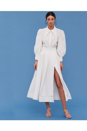 C/meo Collective Still Feel Ivory Skirt