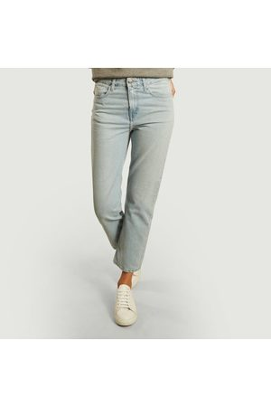 MUD Jeans Cropped Mimi washed jeans Sun stone