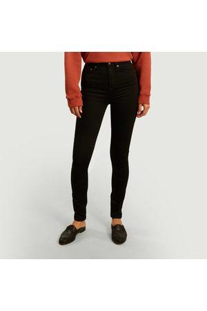 Nudie Jeans Hightop Tilde slim tinted jeans Everblack Jeans