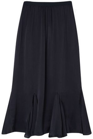 LILY AND LIONEL Women Skirts - Ford Silk Satin Skirt