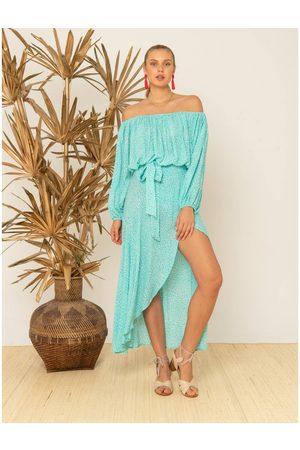 Beach Gold OUTLET Beachgold Betty Wrap Maxi Skirt