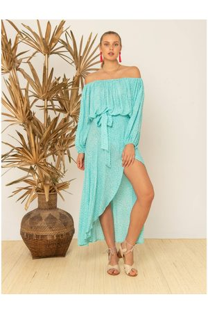 OUTLET Beachgold Betty Wrap Maxi Skirt