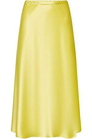 Escada Rolin Double Satin Midi Skirt