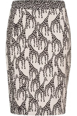 OUTLET Riani Giraffe Pull On Midi Skirt