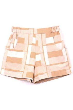 FOLK CLOTHING FOLK Draw Shorts - MARIGOLD JACQUARD
