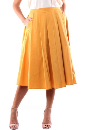 Apuntob Skirts Long Women Ocher