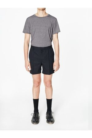 Capsul Men Shorts - Sonar Navy Stripe Wool