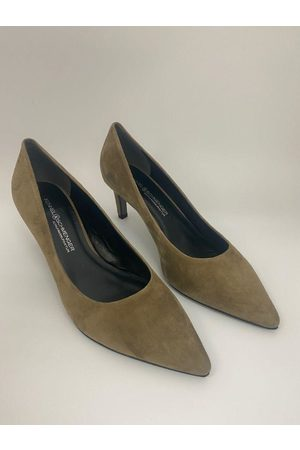 Kennel & Schmenger Women Shoes - Enny Wood Suede Leather Shoe 41-64600-414