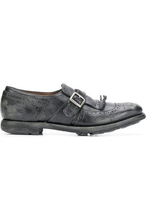 Church's WOMEN'S DO00089PWF0AAB LEATHER MONK STRAP SHOES