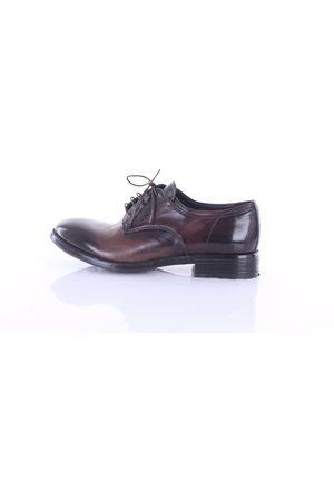 CLAUDIO MARINI Classic dark low shoes