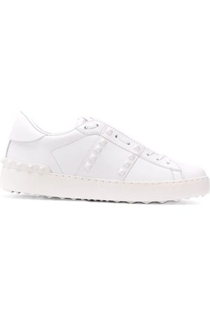 VALENTINO WOMEN'S UW0S0A01YEK0BO LEATHER SNEAKERS