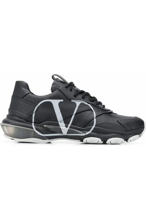 VALENTINO MEN'S UY2S0B05DDS00A LEATHER SNEAKERS