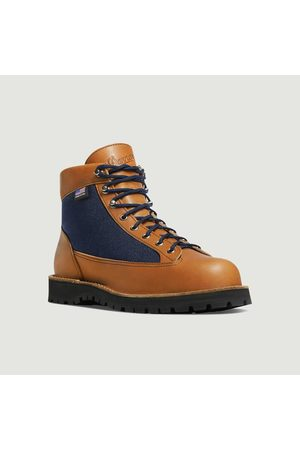 Danner Light denim and leather boots Cascade