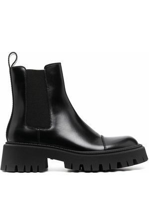 Balenciaga MEN'S 636599WA8E91000 LEATHER ANKLE BOOTS