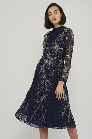 Frock and Frill Karis Embellished Midi Dress