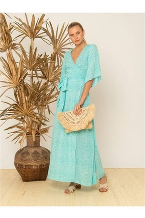 Beach Gold Women Maxi Dresses - OUTLET Beachgold Angie Wrap Maxi Dress