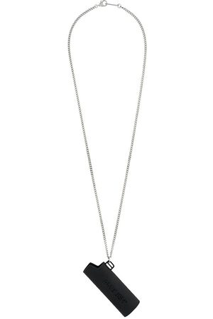 AMBUSH MEN'S 12112095BLACK METAL NECKLACE