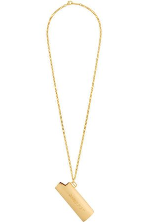 AMBUSH MEN'S 12112095GOLD METAL NECKLACE