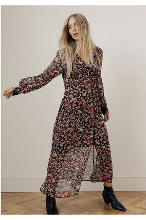 LILY AND LIONEL OUTLET Lily & Lionel Wren Floral Maxi Dress Colour: & Mu