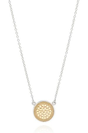 Anna Beck Reversible Disc Necklace - and Silver