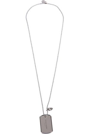 Alexander McQueen MEN'S 585475J160Y0446 METAL NECKLACE