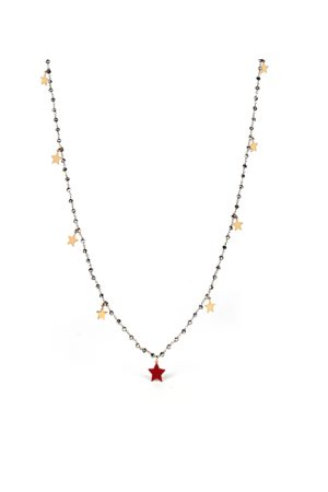 Amitie NECKLACE knots ROSE 'STARS