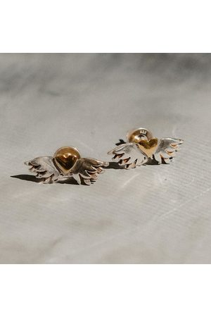 Sophie Harley Classic Winged Heart Earrings