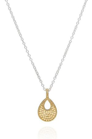Anna Beck Small Open Drop Pendant Necklace - Reversible
