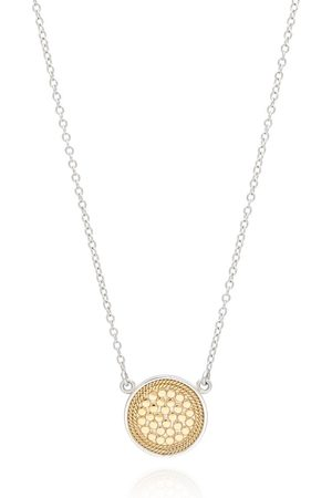 Anna Beck Dotted Disc Necklace