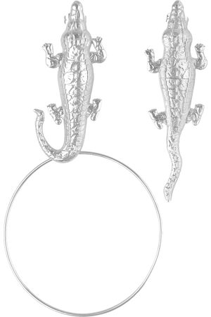 Natia X Lako Crocodile Earrings