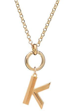 Rachel Jackson Statement Initial 'K' Necklace