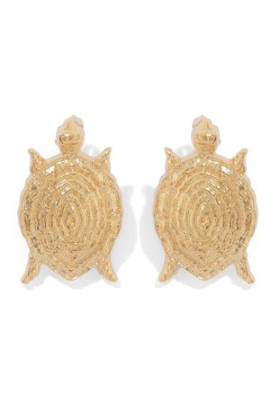 Natia X Lako Small Turtle Earrings