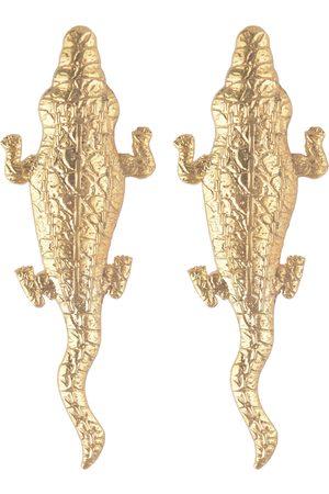 Natia X Lako Women Earrings - Large Crocodile Earrings
