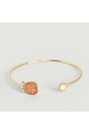 MEDECINE DOUCE Quartz Small Bracelet Coral