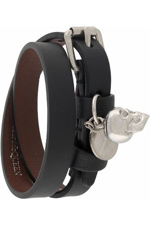 Alexander McQueen WOMEN'S 630990ASD0N1000 LEATHER BRACELET