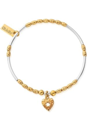 ChloBo Star Heart Bracelet - Gold &