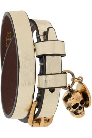 Alexander McQueen WOMEN'S 6309901YA0T7048 LEATHER BRACELET