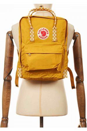 Fjällräven Fjallraven Kanken Classic Backpack - Ochre-Chess Pattern Colour: Ochre