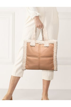 STAND Lolita Shearling Bag