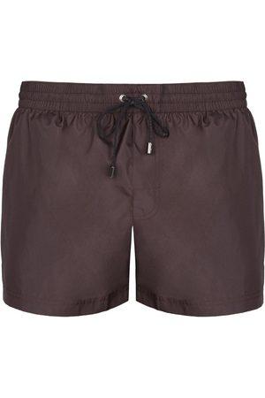 Dolce & Gabbana Tape Logo Swim Shorts