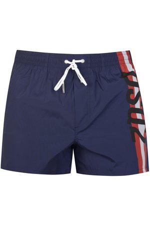 Dsquared2 Men Swim Shorts - HORIZONTAL STRIP SWIMSHORTS