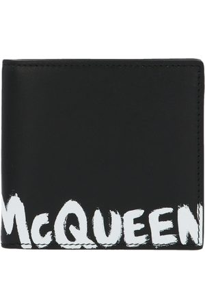 Alexander McQueen MEN'S 6021371NT6B1070 LEATHER WALLET