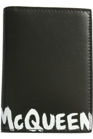 Alexander McQueen MEN'S 6255231NT0B1070 LEATHER WALLET