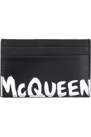 Alexander McQueen MEN'S 6021441NT7B1070 LEATHER CARD HOLDER