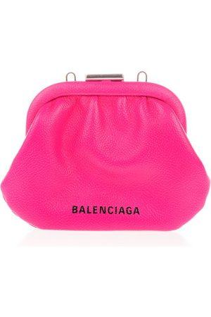Balenciaga WOMEN'S 6189151IZO35514 FUCHSIA LEATHER WALLET