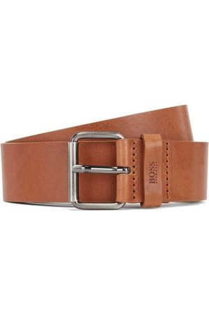 HUGO BOSS Men Belts - Serge Leather Belt